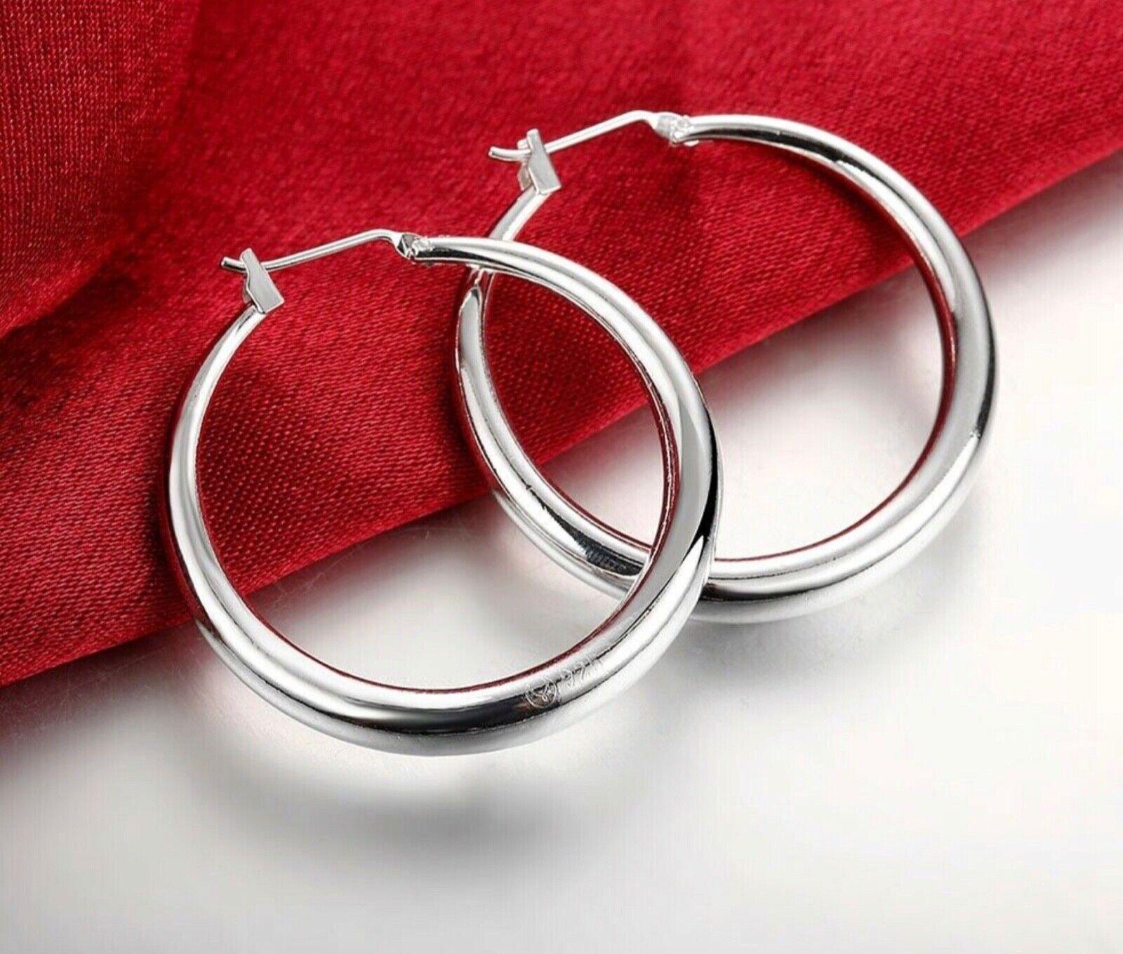 womens 925 sterling silver elegant round pierced