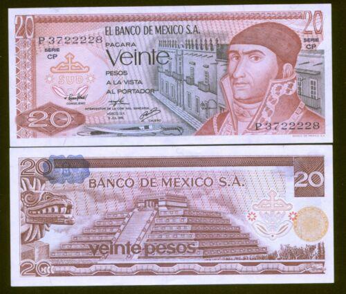 Mexico 20 Pesos 1976 Pck 64c UNC 3722228