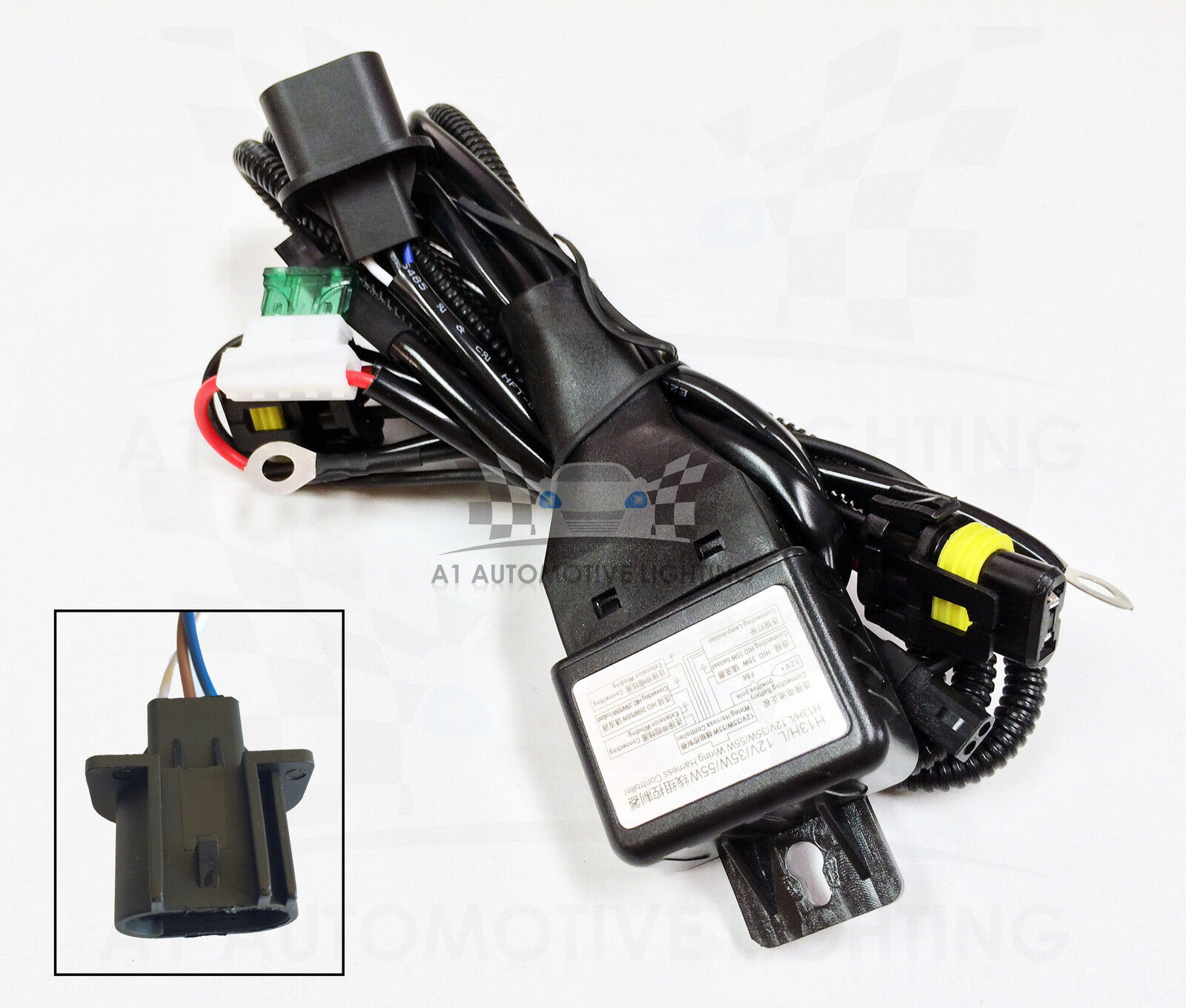 Super 12V 35W Wiring Harness Controller Basic Electronics Wiring Diagram Wiring Database Gramgelartorg