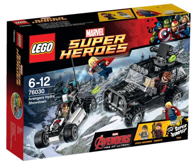 LEGO® Marvel Super Heroes 76030 Avengers Hydra Showdown