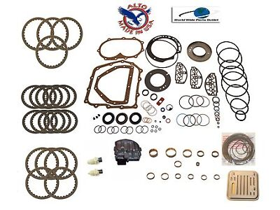 A604 Transmission LS Overhaul Rebuild Kit 90-Up Stage 6 40TE,41TE,F4AC1