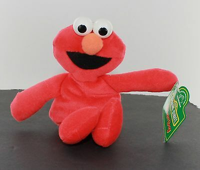 Elmo  Bean Bag Beanie - Seasame Street - Applause (Elmo Bean Bag)