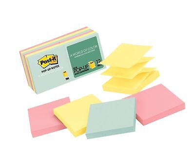 Post-it Pop-up Notes Americas 1 Favorite Sticky Note 3 In X 3 In Marseil...