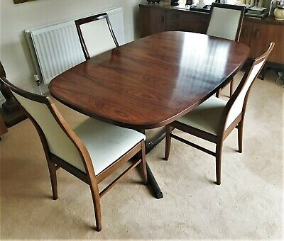 Set of 4 high quality G Plan rosewood chairs - (Ref 20.10.057)