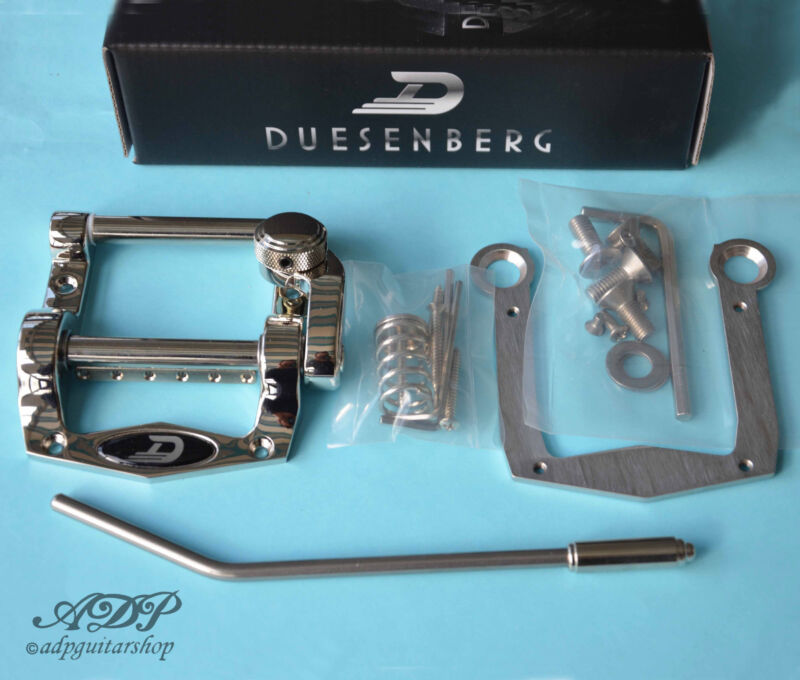 TREMOLO DUESENBERG SUPER TREMOLA SHORT Solid Body NoDrill MPTM5 ADAPTATOR Export