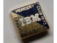 Vtg 1954 IBM 100/% Club Dutch Patroon Festival Poughkeepsie,NY BBQ Apron