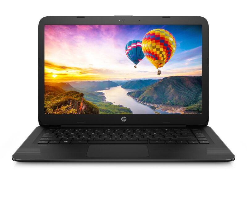 "New HP 14"" Intel DualCore N3060 4GB 32GB SSD Windows 10 + Office 365 Personal"