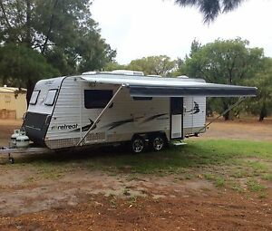 2013 Retreat Macquarie, 18.6' semi off-road Dual Axle Caravan Mullaloo Joondalup Area Preview