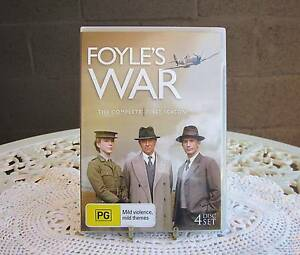 Foyle's War DVD season 1 New Lambton Newcastle Area Preview