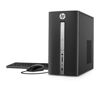 New HP Pavilion 570-p023w (1TB + 128GB, Intel Core i5 7th Gen 3.00GHz, 8GB RAM)