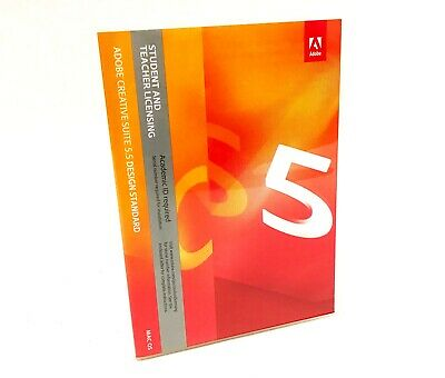 Adobe Creative Suite CS CS5 5.5 Design Standard Mac OS - 21 Disc Set - EXCELLENT