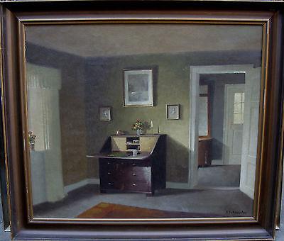 E. Schneider, Interieurszene, um 1940