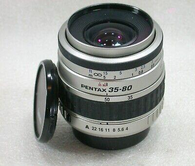 SMC Pentax-FA 35-80mm F4-5.6 Autofocus Lens, PK/A/F Mount, No. 6004633