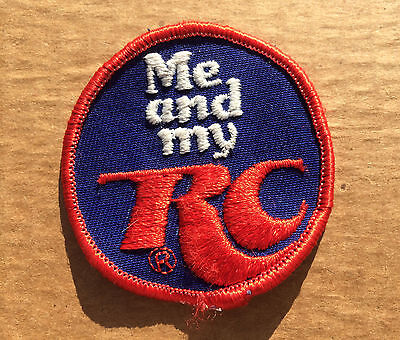 Vintage Embroidered RC Cola Sew On Patch, Extremely Rare