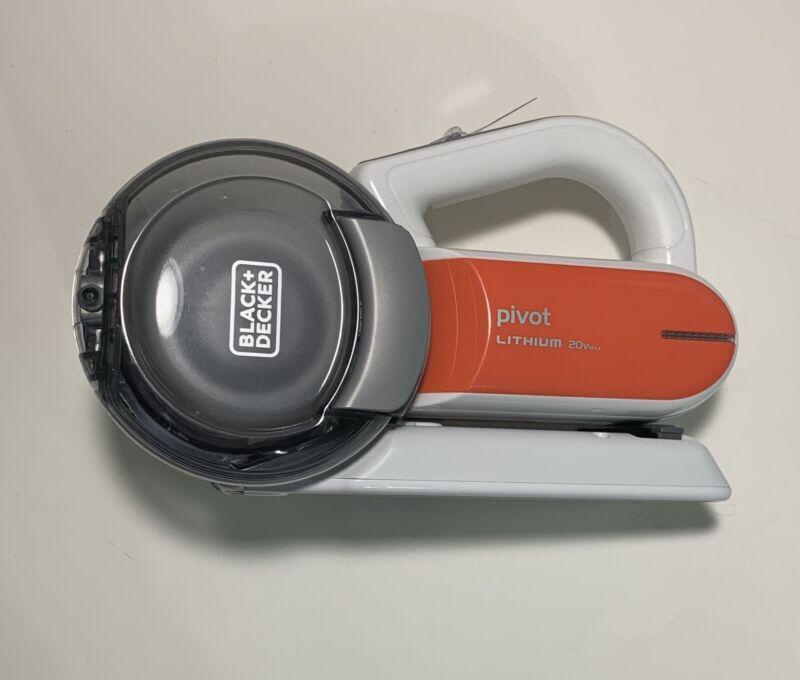 NEW BLACK+DECKER 20V Max Handheld Pivot Vacuum Cordless NO CHARGER