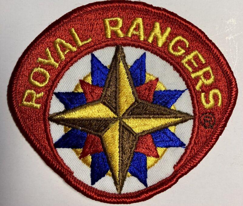 ROYAL RANGERS Big Patch Vintage Collectible RR