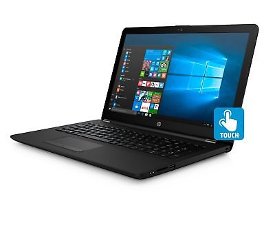 "NEW HP 15.6"" Touchscreen Laptop intel Pentium N5000, 4GB, 1TB, Black, 15-bs289wm"