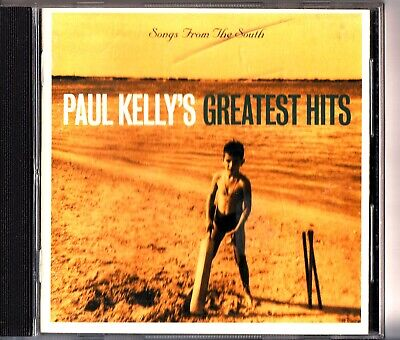 PAUL KELLY- Songs From The South- Best Of/Greatest Hits Folk Rock CD-