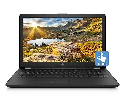 "NEW HP 15.6"" HD Touch Intel Quad Core N5000 2.7GHz 4GB 1TB HDD Webcam BT Win 10"