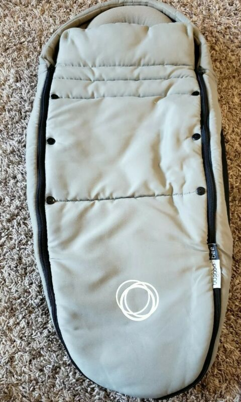 Bugaboo Bee Footmuff Gray Stroller Sleeping Bag Originally $129 *for infant*