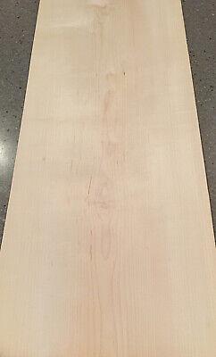 Maple Wood Veneer 3 Wide Sheets 33 X 13.5 9 Sq Ft
