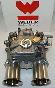 Weber 45 DCOE Carburetor - 45DCOE European Weber Carb - New Genuine Weber DCOE
