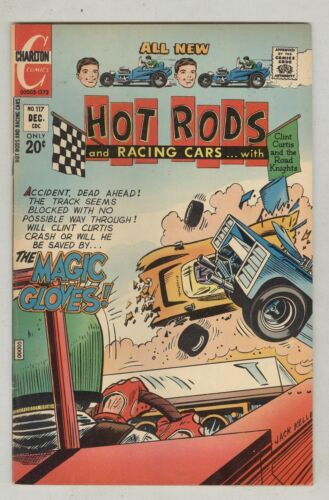 Hot Rods and Racing Cars #117 December 1972 FN The Magic Gloves