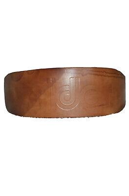 Mens Bollinger Tan Leather Weight Lifting Vintage Belt