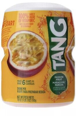 Powdered Drink Mix (Tang Powdered Drink Mix, Passion fruit, 18.0 Ounce-FREE SHIPPING)