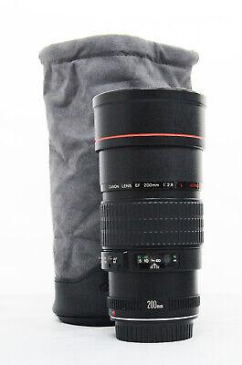 # Canon EF 200mm f/2.8L USM Lens S/N 102456