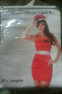 'Captain Mile High' costume Sz 16-18 - Mile High Captain Kostüm