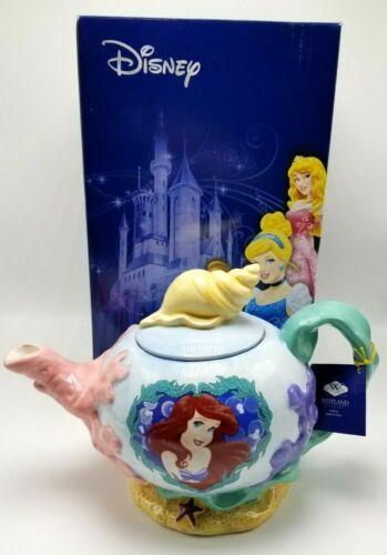 Westland Giftware Disney Ariel Mermaid Pearl of the Sea Teapot 40oz Ceramic Rare