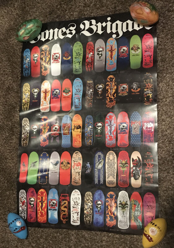 Skateboard Poster Bones Brigade 3