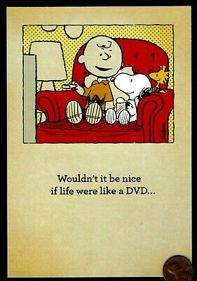 PEANUTS Charlie Brown Woodstock Snoopy Chair - Religious Birthday Greeting Card - Charlie Brown Birthday