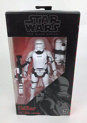 "Star Wars First Order Flametrooper Black Series 6"" (shelfwear)"