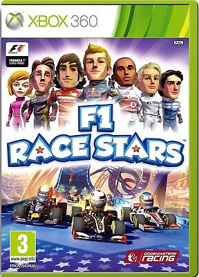 F1 RACE STARS Kids Game Xbox 360 PAL Fast Post UK comprar usado  Enviando para Brazil
