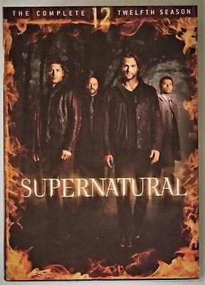 Supernatural Season 12 Dvd 6 Disc