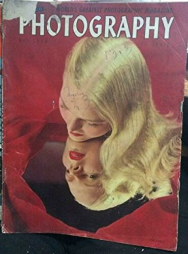Popular Photography Magazine May 1949 Marilyn Monroe 1940s