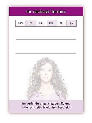 20x Premium Terminblöcke Friseur mit 50 Terminkarten pro Block, Frisör Blöcke