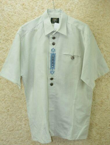 Bavarian Austrian Trachten Loden Shirt  Size 39/40