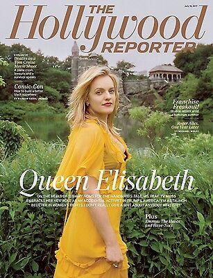 The Hollywood Reporter Magazine  Emmy Winner Handmaids Tale  Elisabeth Moss