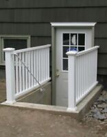 Windows and door cutting , separate entrance cut out