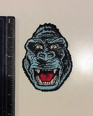 King Kong Embroidered Patch Vintage Retro Collegeville Ben - King Kong Maske