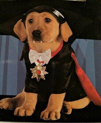 Rubies Dracula Universal Studios size M Classic Pet Dog Halloween Costume 887862