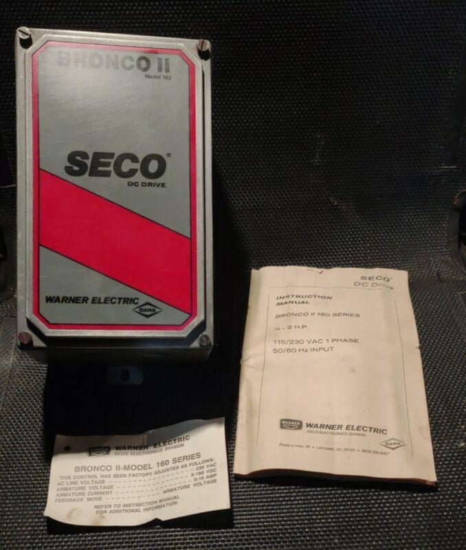 DC Drive NEW Bronco II Seco 162 15A 230VAC Warner Electric DANA