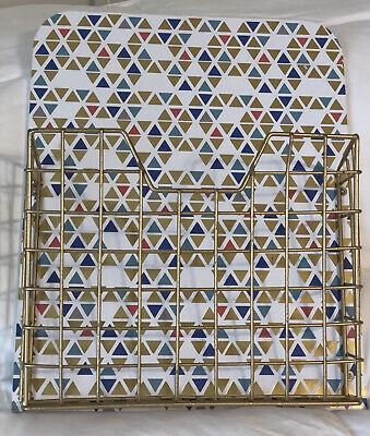 Hanging Wire File Decorative Organizer Wall Mount - Wire Basket -