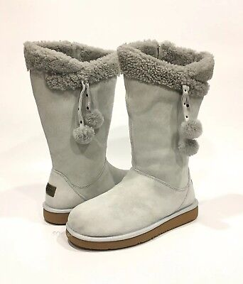 UGG PLUMDALE CUFF TALL BOOTS GREY VIOLET SUEDE -US SIZE 7 -NEW, used for sale  Oxnard
