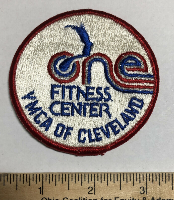 Vintage YMCA Of Cleveland Ohio Fitness Center Patch
