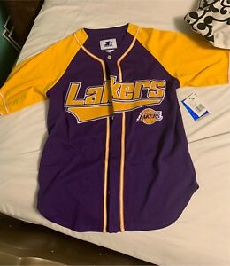 Rare Starter  lakers jersey w/ tags never worn
