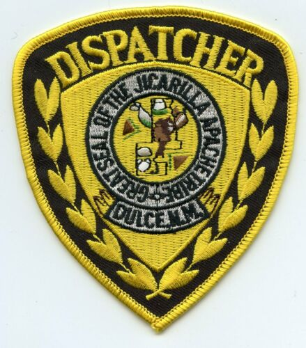 JICARILLA APACHE INDIAN TRIBE NEW MEXICO NM TRIBAL 9-1-1 DISPATCHER POLICE PATCH